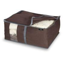 Hnedý úložný box na paplóny Domopak Living, 25&#xA...