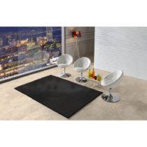 Čierny koberec Universal Veluro Negro, 57 x 110 cm