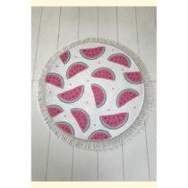 Bielo-ružová kúpeľňová predložka ...