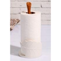 Držiak na papierové obrúsky z bambusového dreva, 13 × ...