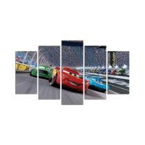 5-dielny obraz Cars