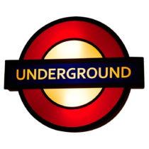 Nástenné svietidlo Glimte Underground
