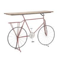 Konzolový stolík s železnou konstrukcí Mauro Ferretti Biciclett...