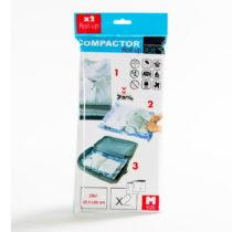 Sada 2 modrých vákuových obalov na oblečenie Compactor, 65&...