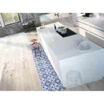 Modrý koberec Universal Mery Porto, 52 × 100 cm