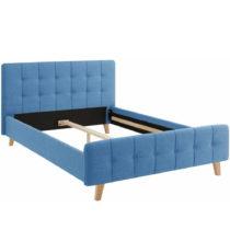 Modrá dvojlôžková posteľ Støraa Limbo, 140&a...