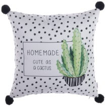 Obliečka na vankúš Apolena Homemade PomPom Cactus, 43&#xD...