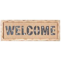 Svietiaca nástenná dekorácia Welcome