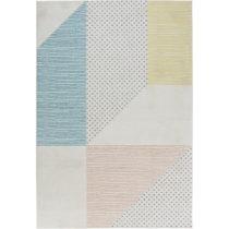 Tyrkysovo-ružový koberec Mint Rugs Madison, 80 × 150 cm