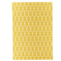 Žltý vysokoodolný koberec vhodný do exteriéru Floorita...
