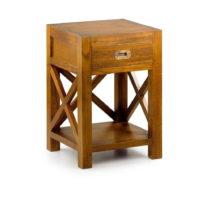Nočný stolík z dreva Mindi Moycor Stare