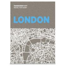 Mapa na poznámky Palomar Transparent City Londýn