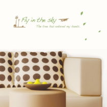 Samolepka Ambiance Fly In The Sky
