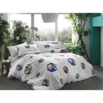 Obliečky s plachtou na dvojlôžko Bamboo Rainbow, 200&#xD7...
