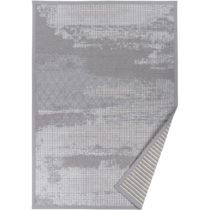 Sivý vzorovaný obojstranný koberec Narma Nehatu, 70 × 140 cm