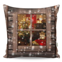 Vankúš Christmas Window, 43x43 cm
