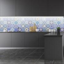 Sada 24 nástenných samolepiek Ambiance Wall Stickers Tiles Flamenco, 15&...