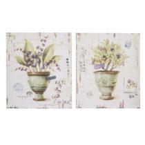 Sada 2 dekoratívnych tabuliek Antic Line Provence