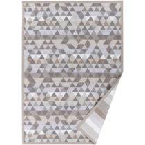 Béžový vzorovaný obojstranný koberec Narma Luke, 140 &...