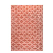 Ružový koberec White Label Feike, 160×230c...