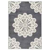 Sivý koberec Hanse Home Gloria Lace, 80 x 150 cm