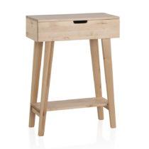 Konzolový stolík z brezového dreva Geese Pure