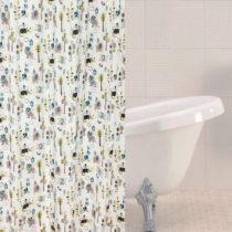 Sprchový záves Sabichi Jungle Town, 180 x 180 cm