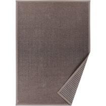 Hnedý vzorovaný obojstranný koberec Narma Helme, 70 × 140 cm