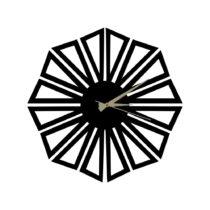 Kovové hodiny Dandelion, 60×50 cm