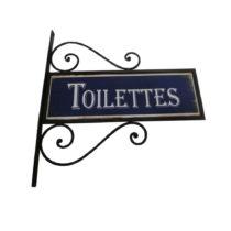 Nástenná ceduľa Antic Line Toilettes