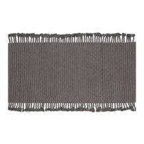 Sivý bavlnený koberec WOOOD Mink