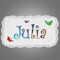 Stropné svietidlo Glimte Ruti Julia White