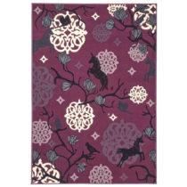 Detský fialový koberec Zala Living Unicorn, 140×200&a...