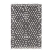 Tmavosivý koberec Mint Rugs Ornament, 200 × 290 cm