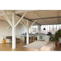Vysokoodolný koberec vhodný do exteriéru Floorita Stuoia Mink, 155&#x...