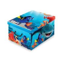 Úložný box s rukoväťami Domopak Living Finding Dory