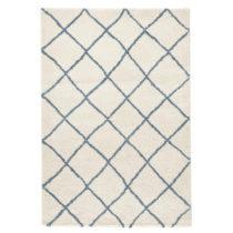 Biely koberec Mint Rugs Grid, 160 x 230 cm
