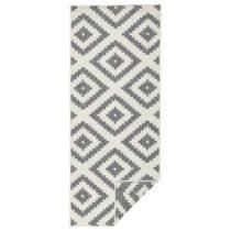 Sivý vzorovaný obojstranný koberec Bougari Malta, 80×&...