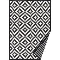 Čierno-biely vzorovaný obojstranný koberec Narma Viki, 70&...
