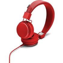 Červené slúchadlá s mikrofónom Urbanears Plattan II To...