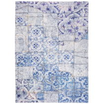 Sivo-modrý koberec Universal Alice, 160×230cm