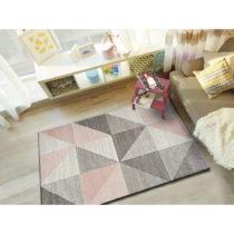 Ružovo-sivý koberec Universal Retudo Naia, 160×230 c...