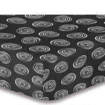 Plachta z mikrovlákna DecoKing Hypnosis Fossil Serena, 90 × 200 cm