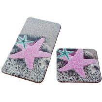 Sada 2 podložiek do kúpeľne Confetti bathmats Stars