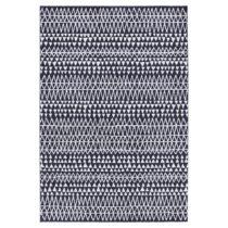 Čierno-biely koberec Mint Rugs Madison, 80 × 150 cm