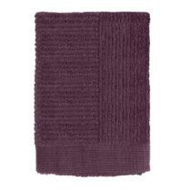 Tmavofialový uterák Zone Classic, 50 x 70 cm