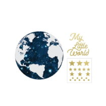 Nástenná samolepka Dekornik My Little World Cosmo, ø 60 cm