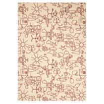 Detský hnedý koberec Zala Living Bambini, 140×200&...