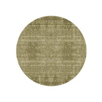 Zelený bavlnený koberec PT LIVING Washed, Ø150cm