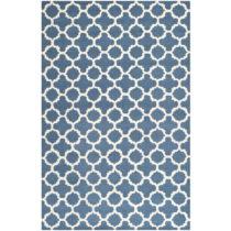 Modrý vlnený koberec Safavieh Bessa 121×182...